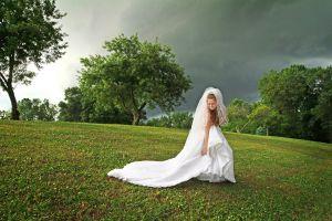 Greenway Farms Hixson TN wedding bridal portrait