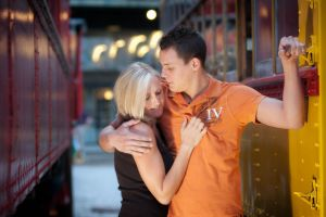 Chattanooga Choo Choo engagement session.