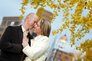 Downtown Chattanooga, Miller Plaza engagement session.